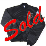 Vintage LA Raiders Starter satin jacket NWT