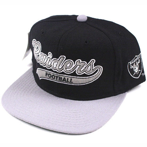 bb89b9e2fd7 Vintage Snapback Snap Back Hat Los Angeles Raiders Starter ...