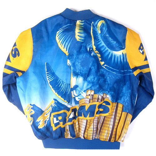 low priced 8a353 9388d Vintage LA Rams Chalk Line Jacket Los Angeles NFL Football ...