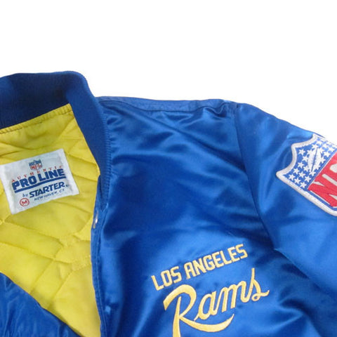 finest selection 53b86 35db3 Vintage Los Angeles Rams Starter Jacket NWT NFL Football ...