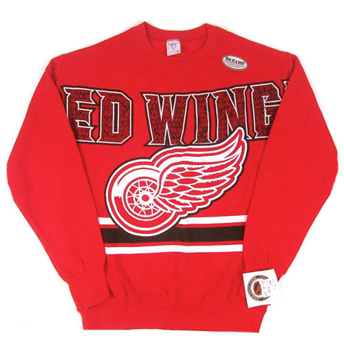 Vintage Detroit Red Wings Crewneck Sweatshirt NWT