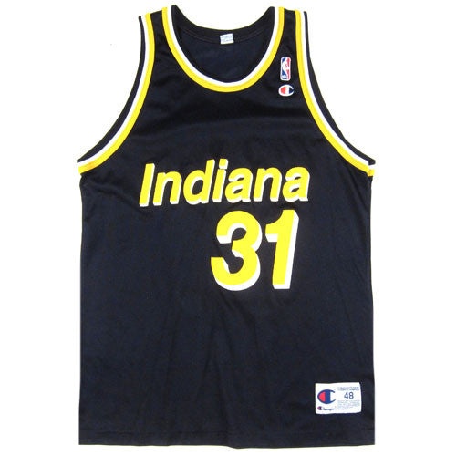 Vintage Reggie Miller Indiana Pacers Champion Jersey