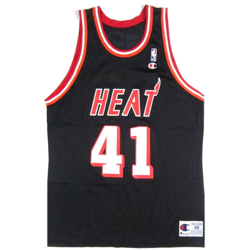 the best attitude b9d1e 5f23a Vintage Glen Rice Miami Heat Champion Jersey