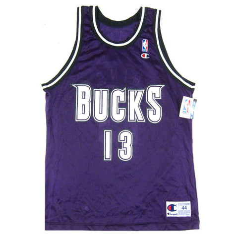 Vintage Glenn Robison Milwaukee Bucks Champion Jersey