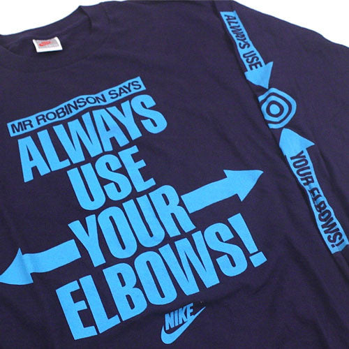 Vintage David Robinson Use Your Elbows Nike T-Shirt
