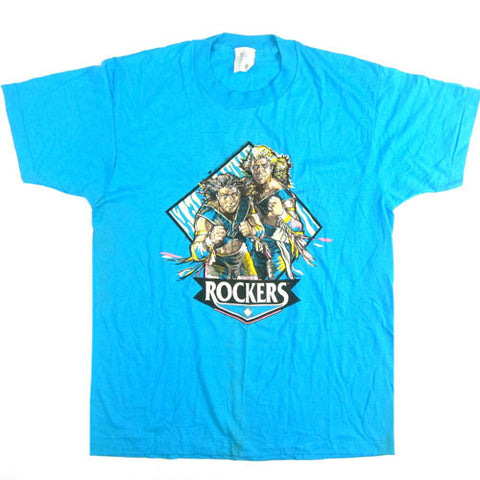 Vintage The Rockers 1990 WWF T-Shirt