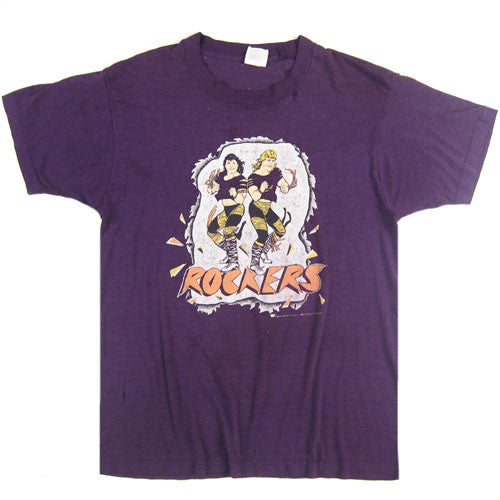 Vintage The Rockers 1989 WWF T-Shirt