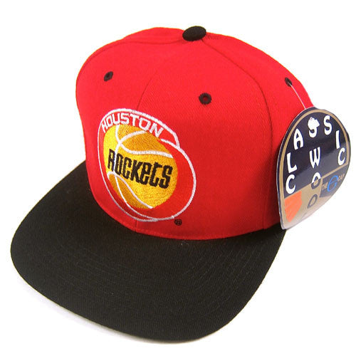 Vintage Houston Rockets snapback hat NWT