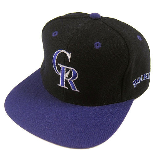 Vintage Colorado Rockies BackTalk Snapback Hat NWT