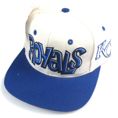 Vintage Kansas City Royals Snapback Hat NWT