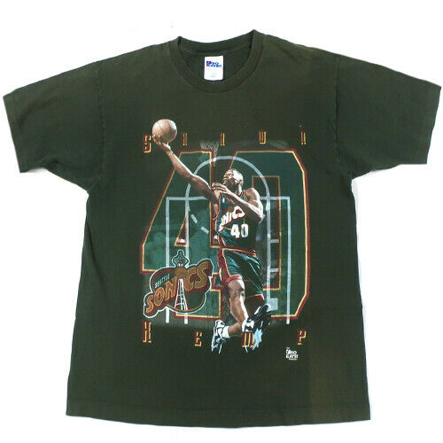 Vintage Shawn Kemp Seattle Sonics T-shirt