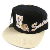 Vintage New Orleans Saints Snapback Hat NWT