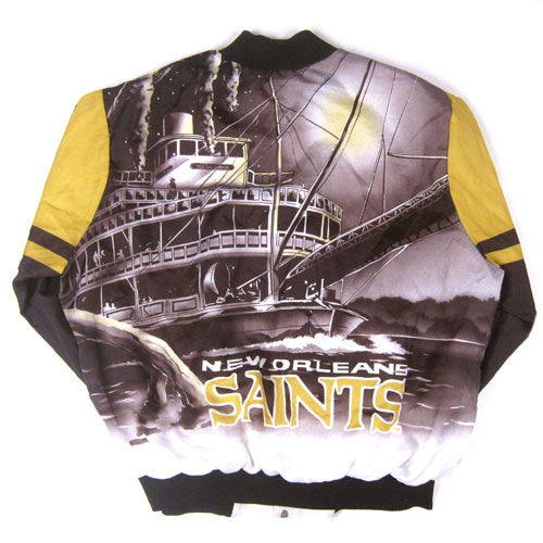 Vintage New Orleans Saints Chalk Line Jacket
