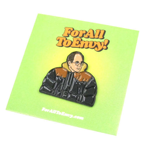 "For All To Envy ""Scary Cold"" Lapel Pin"
