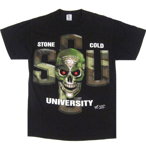 Vintage Stone Cold University Hard Knocks T-Shirt