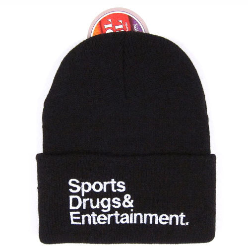 "For All To Envy ""S.D.E."" Beanie NWT"