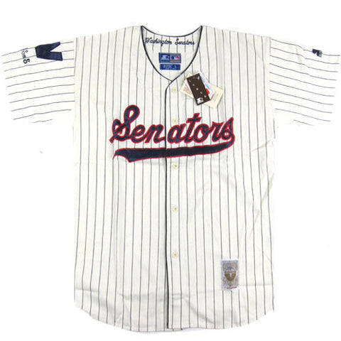 Vintage Washington Senators Starter Jersey NWT