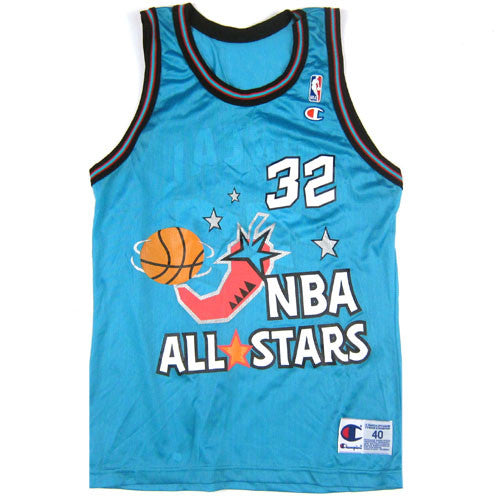 Vintage Shaquille O'neal 1996 All Star Champion Jersey