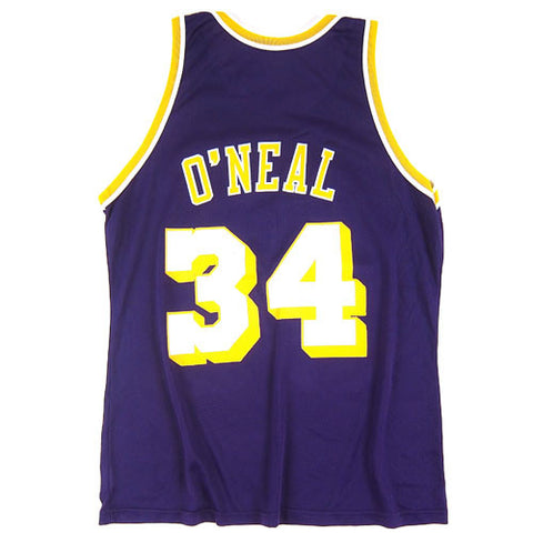 huge discount 8c227 24dfb Vintage Shaquille O'neal LA Lakers Jersey NWT Shaq Los ...