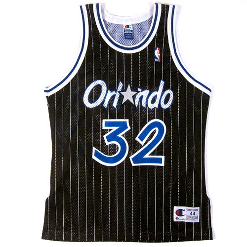 Vintage Shaquille O'Neal Authentic Orlando Magic Champion Jersey