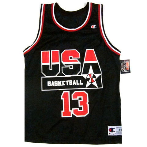 Vintage Shaquille O'neal USA Dream Team Champion Jersey