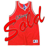 Vintage Jerry Sloan Chicago Bulls Champion Jersey NWT
