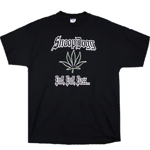 Vintage Snoop Dogg Puff Puff Pass Tour T-Shirt