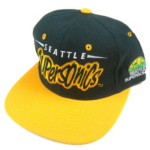 Vintage Seattle Supersonics Starter Snapback Hat NWT