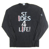Vintage St. Ides 4 Life Malt Liquor Long Sleeve T-Shirt