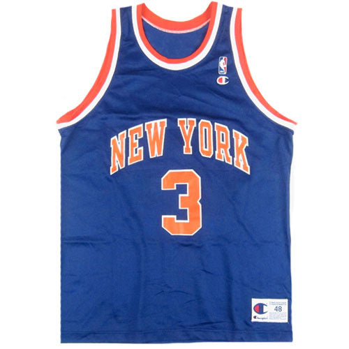 Vintage John Starks New York Knicks Champion Jersey