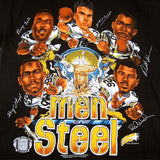 Vintage Pittsburgh Steelers Men of Steel T-Shirt