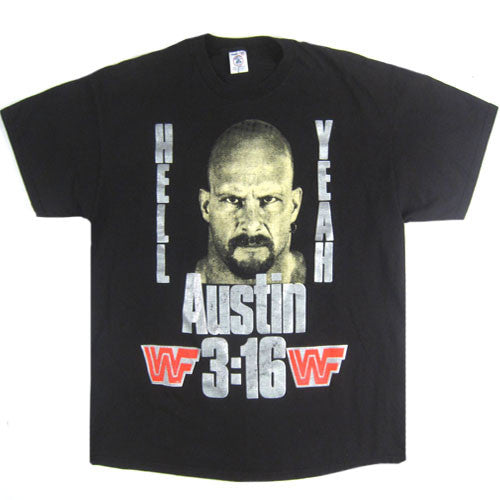 Vintage Stone Cold Austin 3:16 Hell Yeah T-Shirt