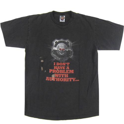 Vintage Stone Cold I Am The Authority T-Shirt