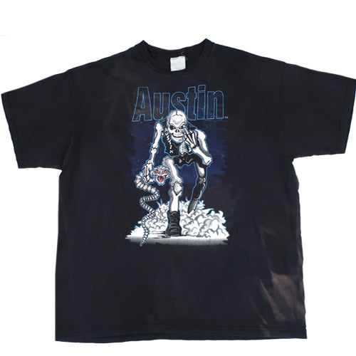 Vintage Stone Cold AUSTIN 3:16 Bad To The Bonz T-Shirt