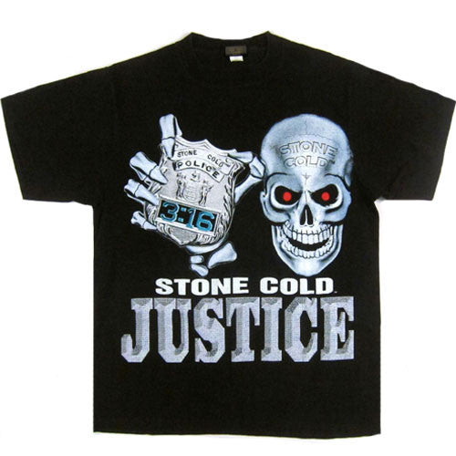 Vintage Stone Cold 316th Precinct T-Shirt