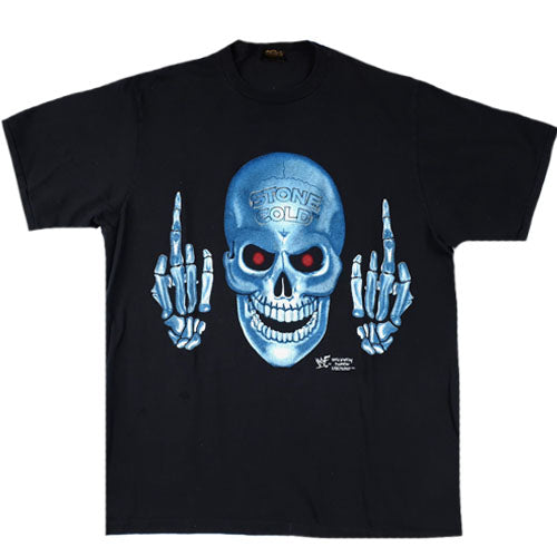 Vintage Stone Cold Middle Fingers T-Shirt