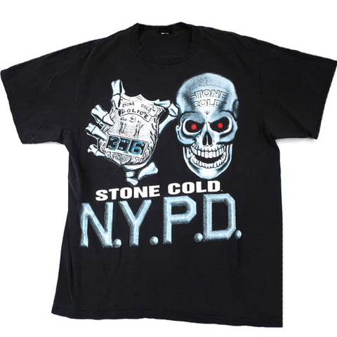 Vintage Stone Cold NYPD T-Shirt