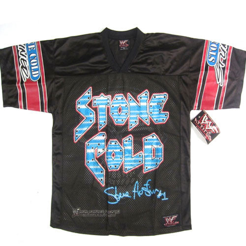 Vintage Stone Cold Stunner Hockey Jersey NWT