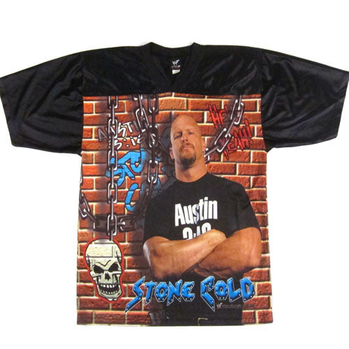 Vintage Stone Cold The Stunner 1999 Jersey
