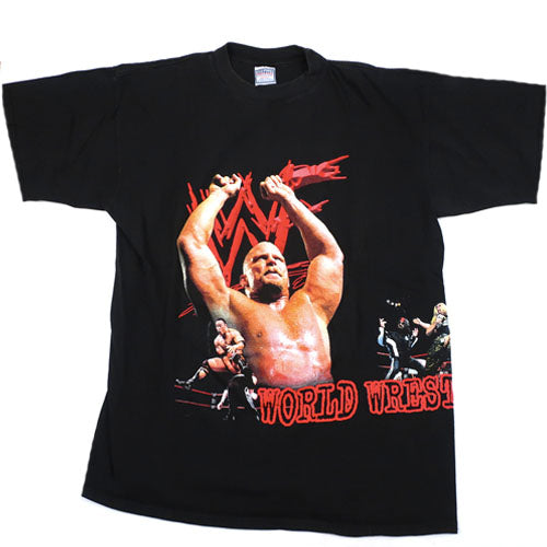 Vintage Stone Cold/The Rock/The Undertaker/DX T-Shirt