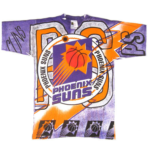 Vintage Phoenix Suns All Over Print T-shirt NWT's