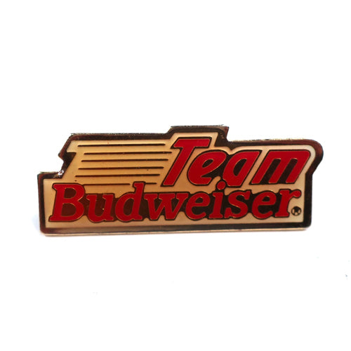 Vintage Team Budweiser Pin