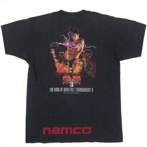 Vintage Namco Tekken 3 T Shirt Video Game Gamer 1996 Playstation
