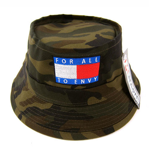 "For All To Envy ""TH"" Bucket Hat"