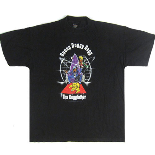 Vintage Snoop Doggy Dogg Tha Doggfather t-shirt
