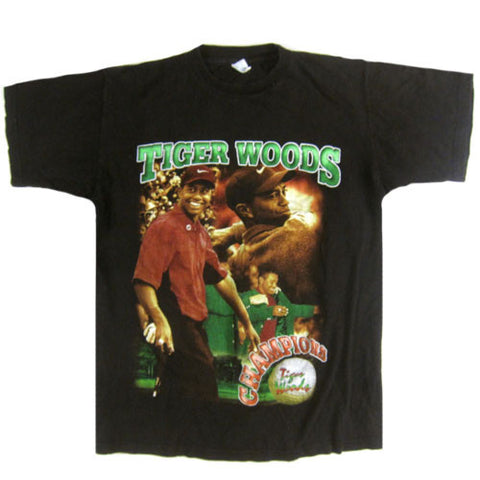 Vintage Tiger Woods The Masters Champion T-Shirt