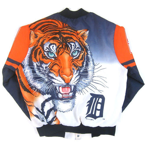 Vintage Detroit Tigers Chalk Line Jacket