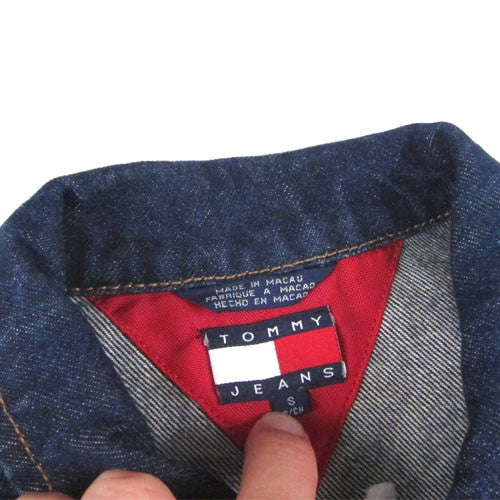 d2203910 Vintage Tommy Hilfiger Jean Jacket 90s Aaliyah – For All To Envy
