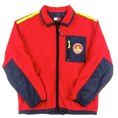 Vintage Tommy Hilfiger Sailing Gear Fleece Jacket