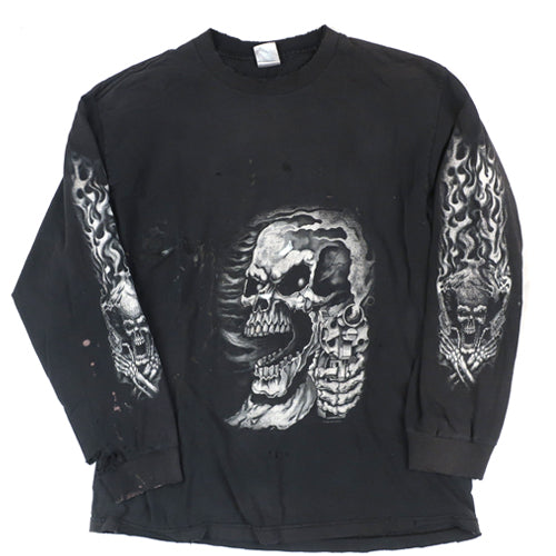 Vintage Top Dead Cycle Long Sleeve T-shirt